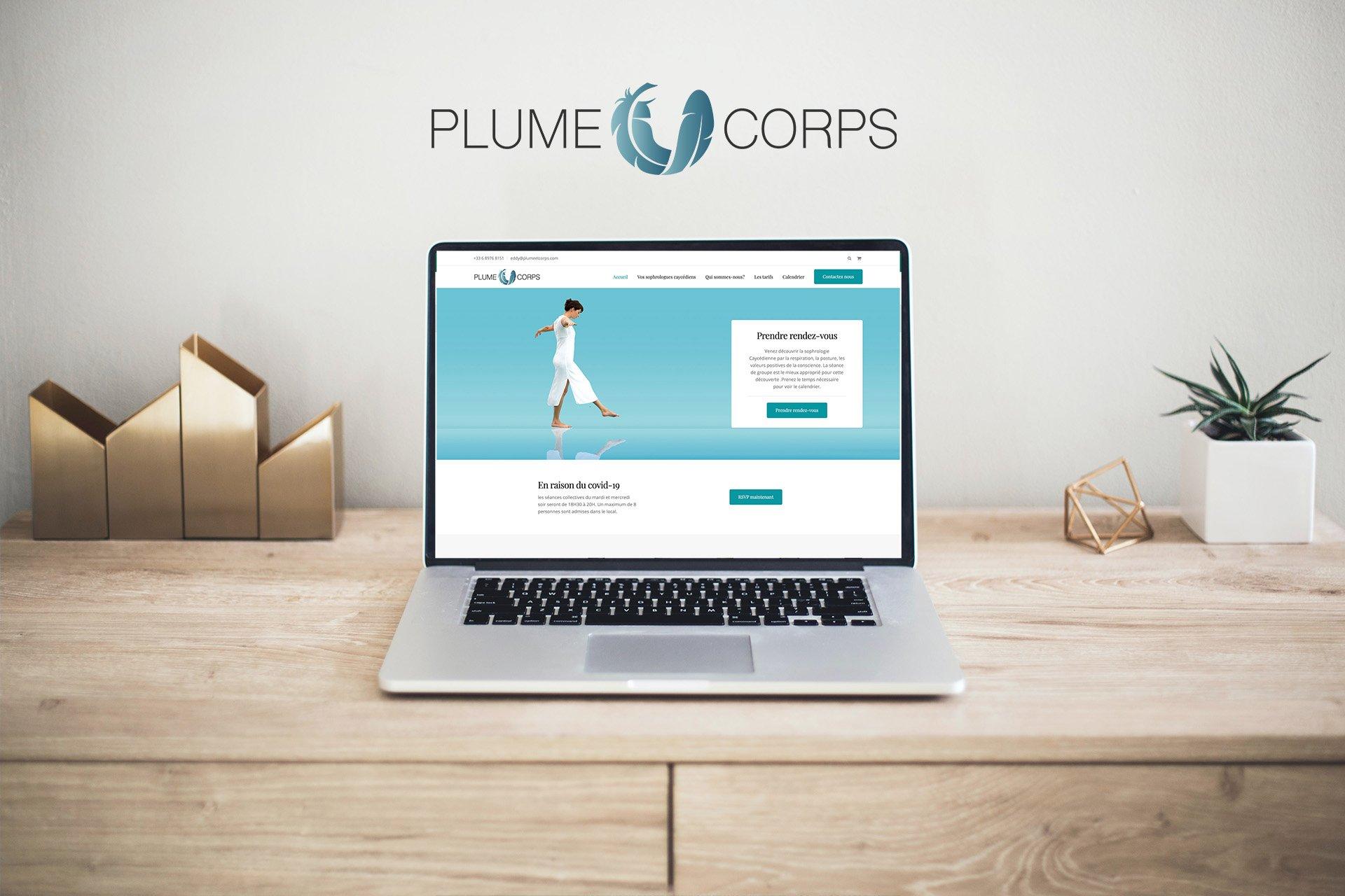 Plume & Corps website