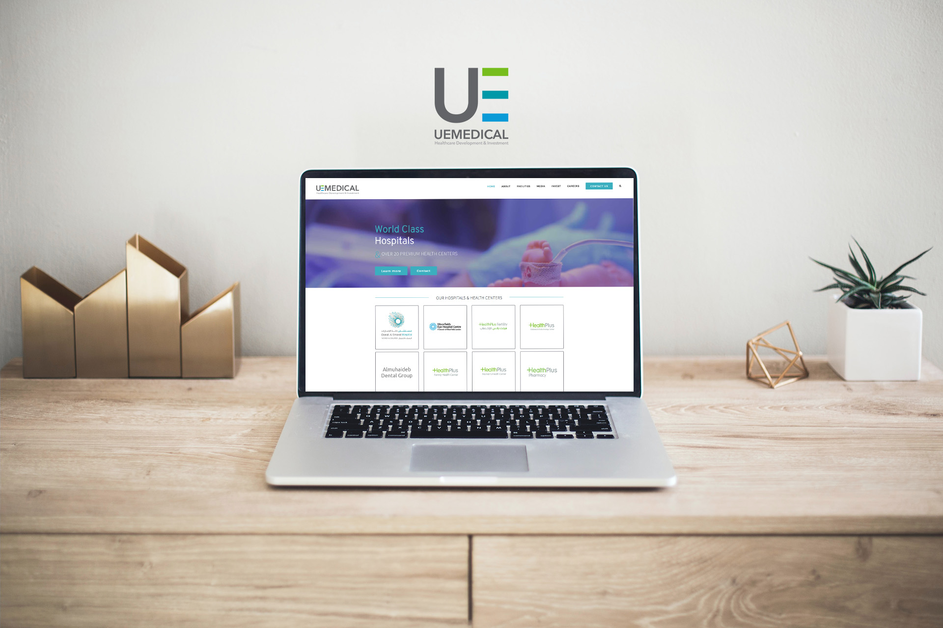 UE Medical website